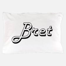 Bret Classic Style Name Pillow Case