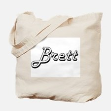 Brett Classic Style Name Tote Bag