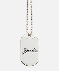 Brodie Classic Style Name Dog Tags