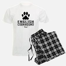 English Coonhound Dad Pajamas