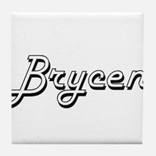 Brycen Classic Style Name Tile Coaster