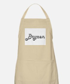 Brycen Classic Style Name Apron