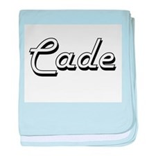 Cade Classic Style Name baby blanket