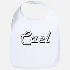 Cael Classic Style Name Bib