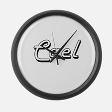 Cael Classic Style Name Large Wall Clock