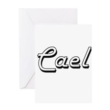Cael Classic Style Name Greeting Cards