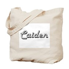 Caiden Classic Style Name Tote Bag