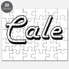Cale Classic Style Name Puzzle