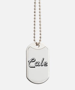 Cale Classic Style Name Dog Tags