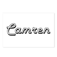 Camren Classic Style Name Postcards (Package of 8)