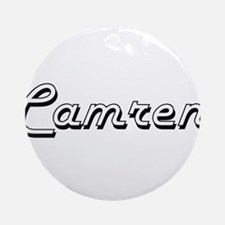 Camren Classic Style Name Ornament (Round)