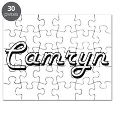 Camryn Classic Style Name Puzzle