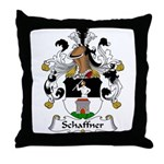 Schaffner Family Crest  Throw Pillow