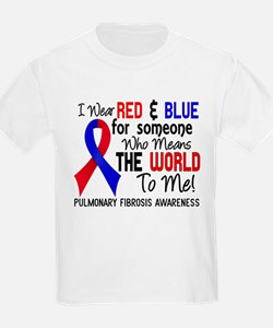 Pulmonary Fibrosis MeansWorldTo T-Shirt