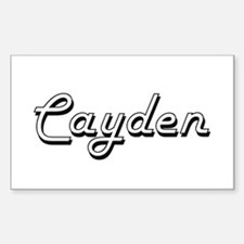 Cayden Classic Style Name Decal