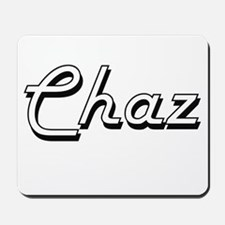 Chaz Classic Style Name Mousepad