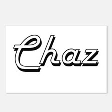 Chaz Classic Style Name Postcards (Package of 8)