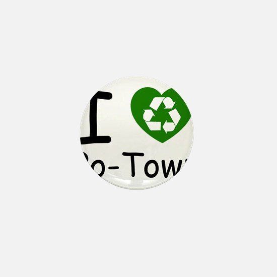i heart potown recycle.png Mini Button (100 pack)