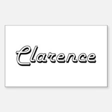 Clarence Classic Style Name Decal
