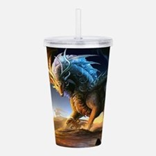 World Of Dragons Acrylic Double-wall Tumbler