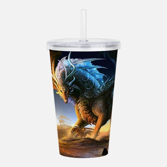 World Of Dragons Acrylic Double-wall Tumbler