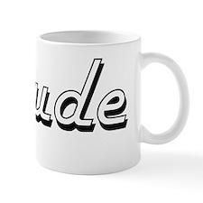 Cute I heart claude Mug