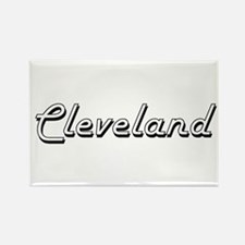 Cleveland Classic Style Name Magnets