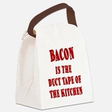 BACON IS THE DUCT TAPE OF THE KIT Canvas Lunch Bag