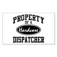 Hardcore Dispatcher Rectangle Decal