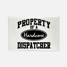 Hardcore Dispatcher Rectangle Magnet