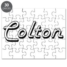 Colton Classic Style Name Puzzle