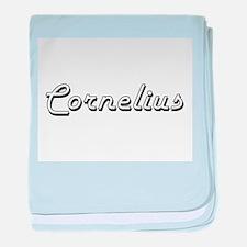Cornelius Classic Style Name baby blanket