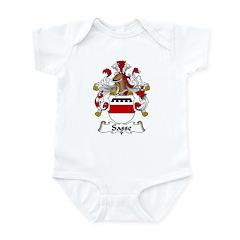 Sasse Family Crest Infant Bodysuit
