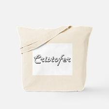 Cristofer Classic Style Name Tote Bag