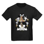 Sander Family Crest  Kids Dark T-Shirt