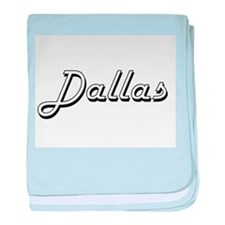 Dallas Classic Style Name baby blanket