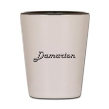 Damarion Classic Style Name Shot Glass