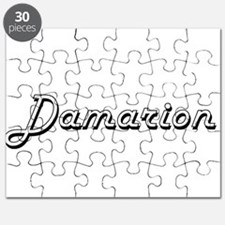 Damarion Classic Style Name Puzzle