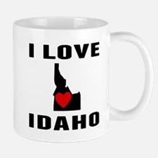 I Love Idaho Mugs
