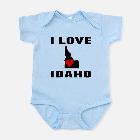 I Love Idaho Body Suit