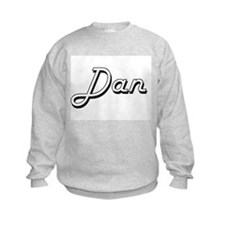 Dan Classic Style Name Sweatshirt