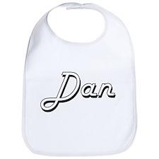 Dan Classic Style Name Bib