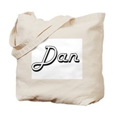 Dan Classic Style Name Tote Bag