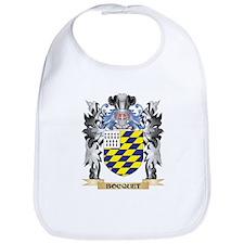 Bocquet Coat of Arms - Family Crest Bib