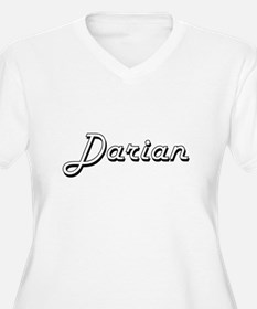 Darian Classic Style Name Plus Size T-Shirt