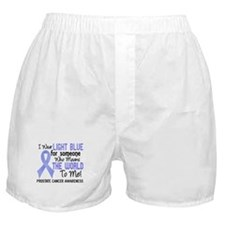 Prostate Cancer MeansWorldToMe2 Boxer Shorts