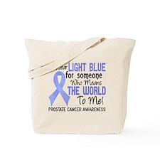 Prostate Cancer MeansWorldToMe2 Tote Bag