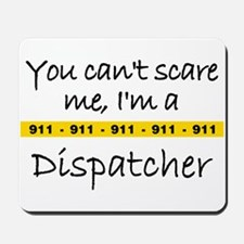 Police Tape Dispatcher Mousepad