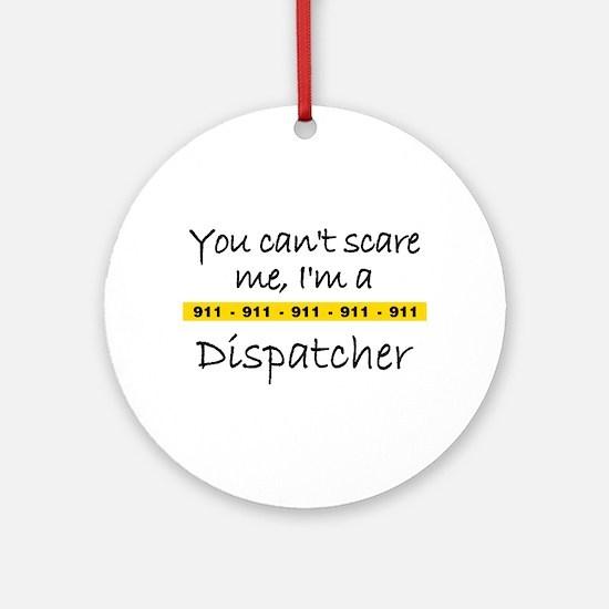 Police Tape Dispatcher Ornament (Round)