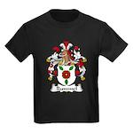 Rummel Family Crest  Kids Dark T-Shirt